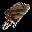 Ключница Carss с логотипом RENAULT 20014 карбон коричневый, фото 2