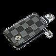 Ключница Carss с логотипом RENAULT 20013 карбон серый, фото 2