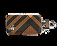 Ключница Carss с логотипом PEUGEOT 19014 карбон коричневый, фото 2