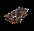 Ключница Carss с логотипом PEUGEOT 19014 карбон коричневый, фото 4