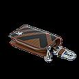 Ключница Carss с логотипом PEUGEOT 19014 карбон коричневый, фото 5