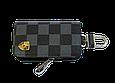 Ключница Carss с логотипом PORSCHE 06013 карбон серый, фото 2