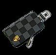 Ключница Carss с логотипом PORSCHE 06013 карбон серый, фото 3