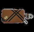 Ключница Carss с логотипом PORSCHE 06014 карбон коричневый, фото 2