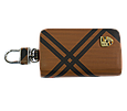 Ключница Carss с логотипом PORSCHE 06014 карбон коричневый, фото 3