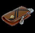 Ключница Carss с логотипом PORSCHE 06014 карбон коричневый, фото 4