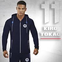 Спортивная толстовка Kiro Tokao - 183 темно-синяя