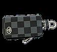 Ключница Carss с логотипом TOYOTA 07013 карбон серый, фото 3