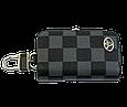 Ключница Carss с логотипом TOYOTA 07013 карбон серый, фото 4