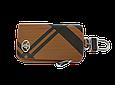 Ключница Carss с логотипом TOYOTA 07014 карбон коричневый, фото 2