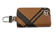 Ключница Carss с логотипом TOYOTA 07014 карбон коричневый, фото 3
