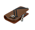 Ключница Carss с логотипом TOYOTA 07014 карбон коричневый, фото 4