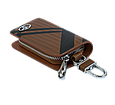 Ключница Carss с логотипом TOYOTA 07014 карбон коричневый, фото 5