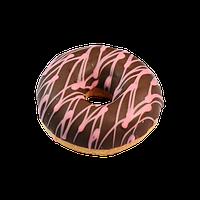 Пончик Donut с малиновой начинкой
