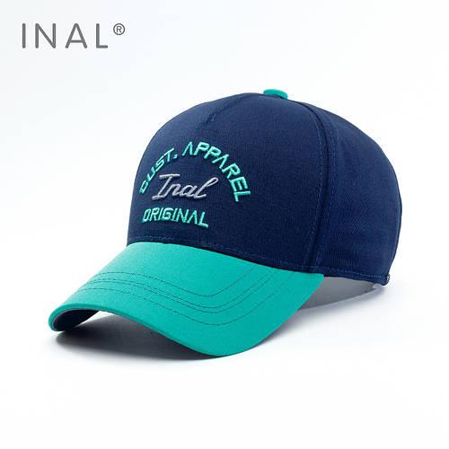 Кепка бейсболка, Original, L / 57-58 RU, Хлопок, Синий, Inal