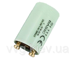 Стартер OSRAM St 111 BASIC CE 4...40W, 65W 220-240V AC SINGLE (10039196)