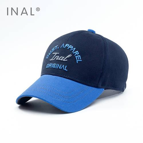 Кепка бейсболка, Original, Хлопок, Синий, Inal