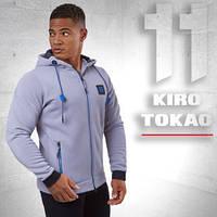 Толстовка спортивная Kiro Tokao - 137 серая