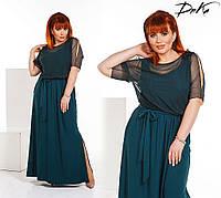 Платье женское большие размеры (цвета) /с485