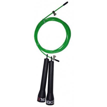 Скакалка для кроссфита V'Noks Steel зелена, фото 2