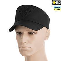 M-Tac кепка-мазепинка с гербом рип-стоп 100% Х/Б Black 56, фото 3
