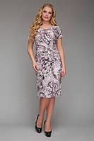 Платье летнее большого размера VР51