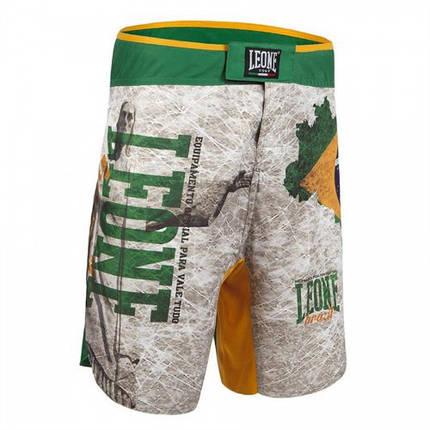 Шорти MMA Leone Brazil L White, фото 2