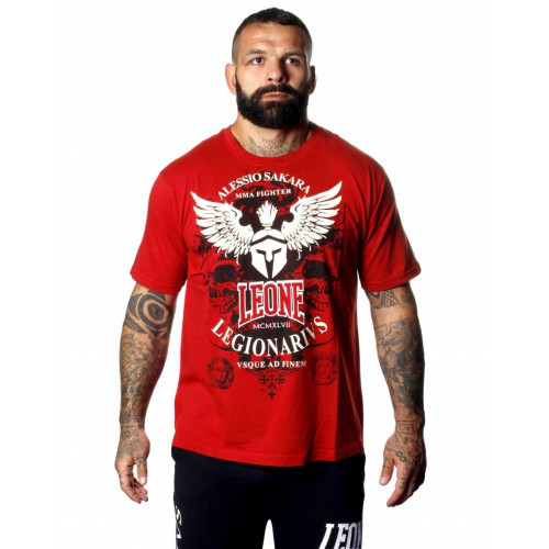 Футболка Leone Legionarivs Red 2XL