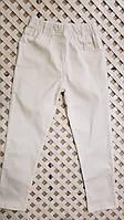 Детские белые стрейчевые штанишки ХИТ сезона!!! для мальчика 92-116