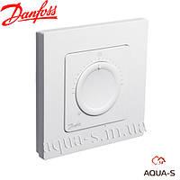 Термостат комнатный Danfoss Icon Dial (230 В) монтаж на поверхность (088U1005)