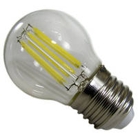 Лампа LED Шар прозрачная колба 6W 220V E27 белый свет АВаТар
