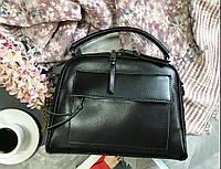 Сумка кожаная ss25824 Люкс , Натуральна кожа Черный сумки