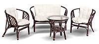 Комплект мебели из бамбука и ротанга для сада или террасы, фото 1