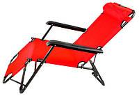 Садовое кресло шезлонг с подголовником Ralph