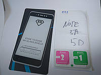 5D Защитное стекло для Xiaomi Redmi Note 5A / 5A Pro (black) полная проклейка