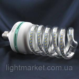 LED лампа спираль Е27 30 Вт 6500k, фото 2