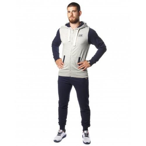 Спортивний костюм Leone Fleece Grey/Blue XL