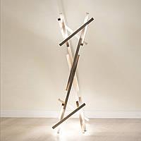 Светильник светодиодный, напольный светильник , торшер из дерева, деревянный торшер - Flame