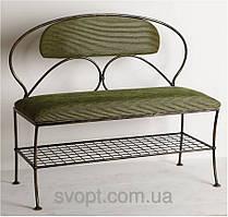 """Кованый диван """"овал"""" (90х45х45)"""