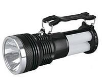 Светодиодный аккумуляторный фонарь SL-2881 3 режима 3W LED черный Код.59095