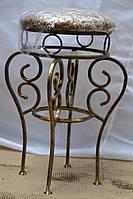 Кованный стул круглый