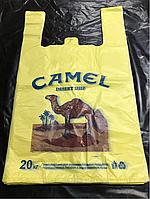 Пакет майка с рисунком,,Camel,,30Х50 (100 штук)
