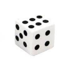 Кости игральные кубики (8 * 8 мм), фото 2