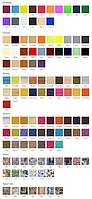 Тип и цвет ткани.