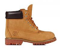 Женские ботинки Classic Timberland 6 inch Yellow Boots W