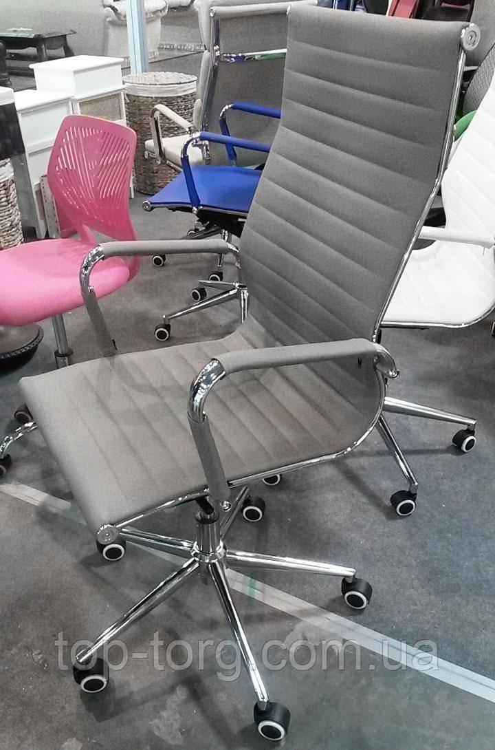 Кресло офисное Solano artlеathеr grеy, цвет серый