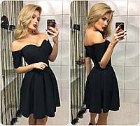 """Женское черное платье """"Лаура"""""""