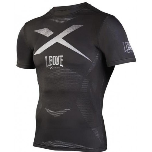 Рашгард с коротким рукавом Leone X-Shirt Black M