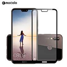 Защитное стекло Mocolo Full сover для Huawei P20 Pro черный