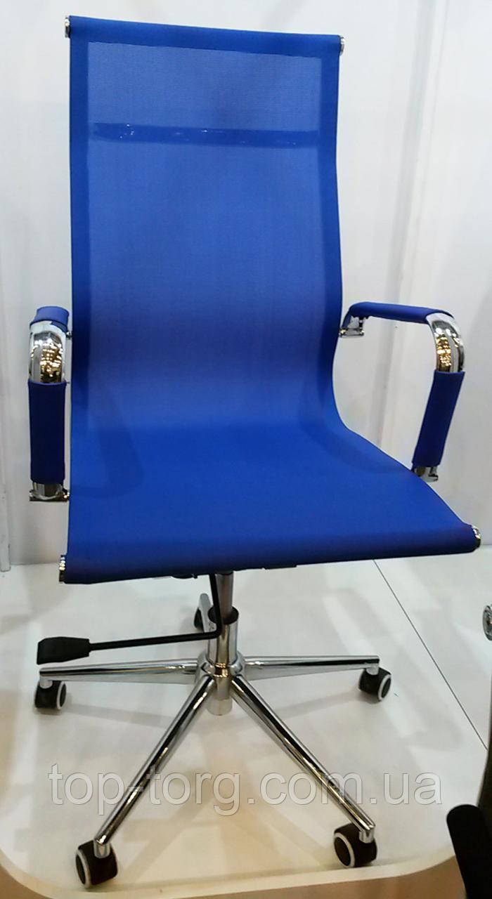 Крісло офісне, керівника Solano mesh blue, синій